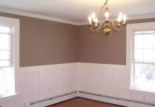 客厅欧式瓷砖墙裙效果图